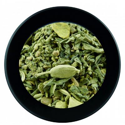 Thé vert et matcha Chaï épicé - 250g