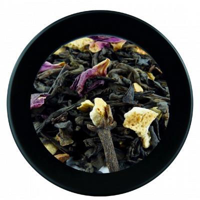 Thé Pu erh et thé fumé aux agrumes - 250g