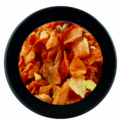 Infusion vegan carotte curry gingembre - 250g