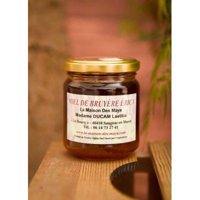 Miel de bruyère érica 500g
