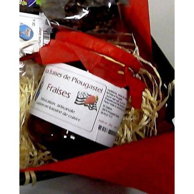 Confiture extra de fraises de Plougastel - 240g