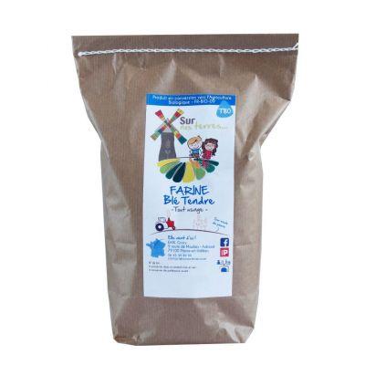 Farine de blé tendre 25kg