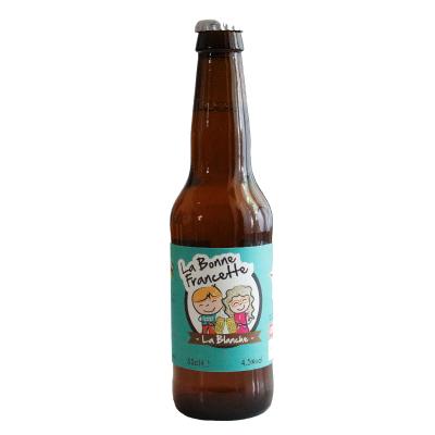 Bière La Bonne Francette Blanche