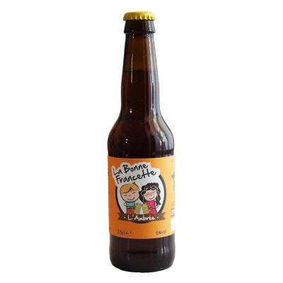 Bière La Bonne Francette Ambrée