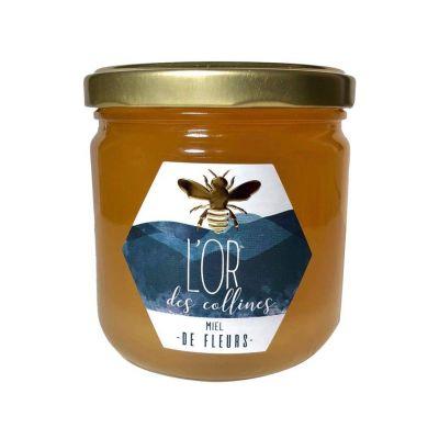 Miel de fleurs BIO Pot de 500g