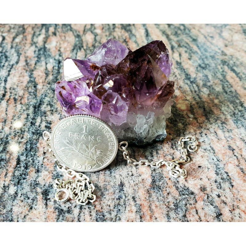 Bracelet pièce 1 Francs Semeuse en argent