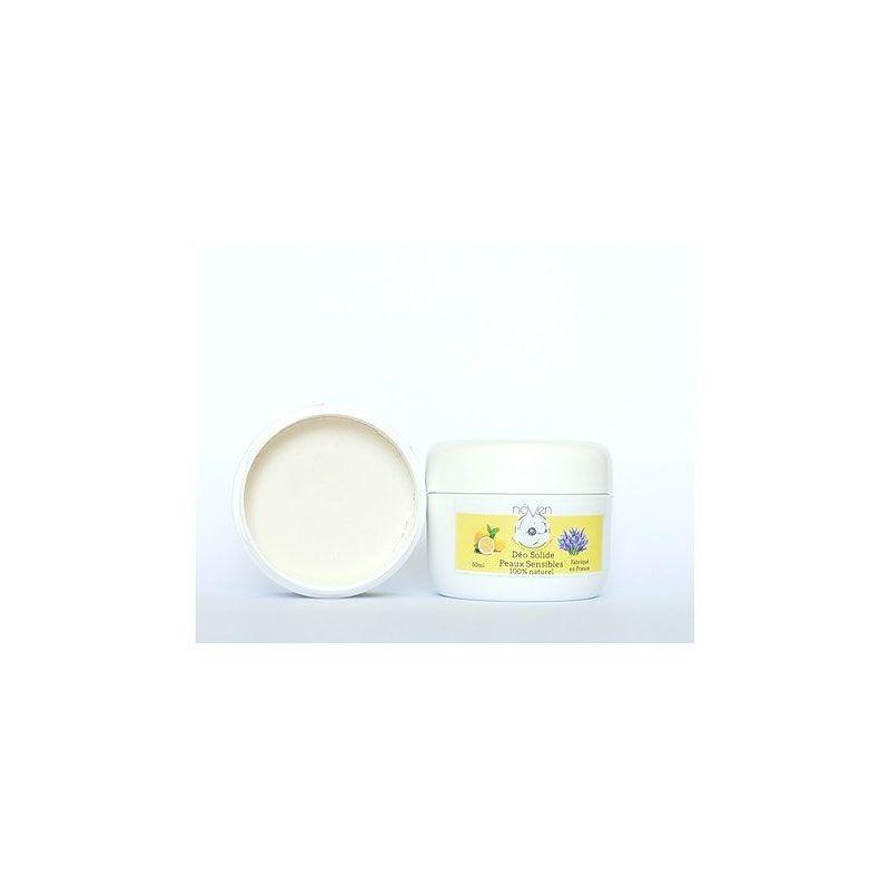 Déo Solide - Peau Sensible - Lavande & Citron - 50g