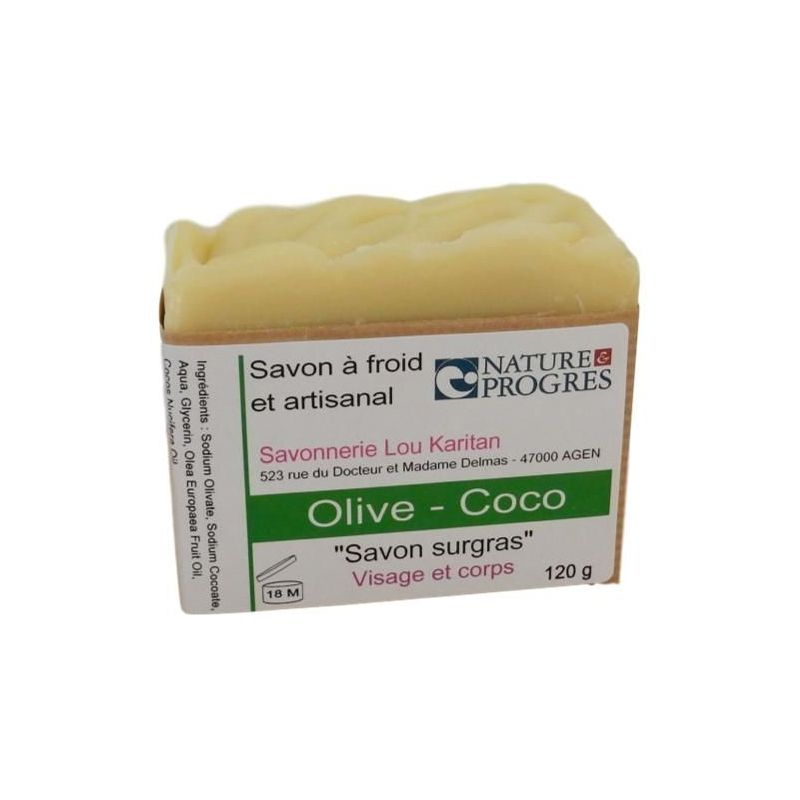 Savon Olive-Coco 120 g