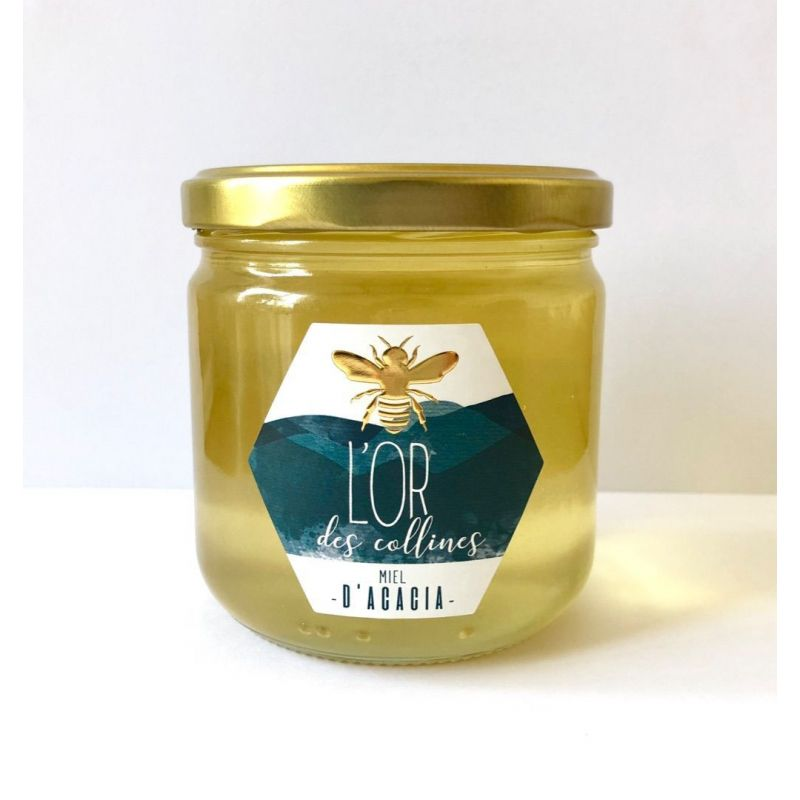 Miel d'acacia Bio pot de 500g