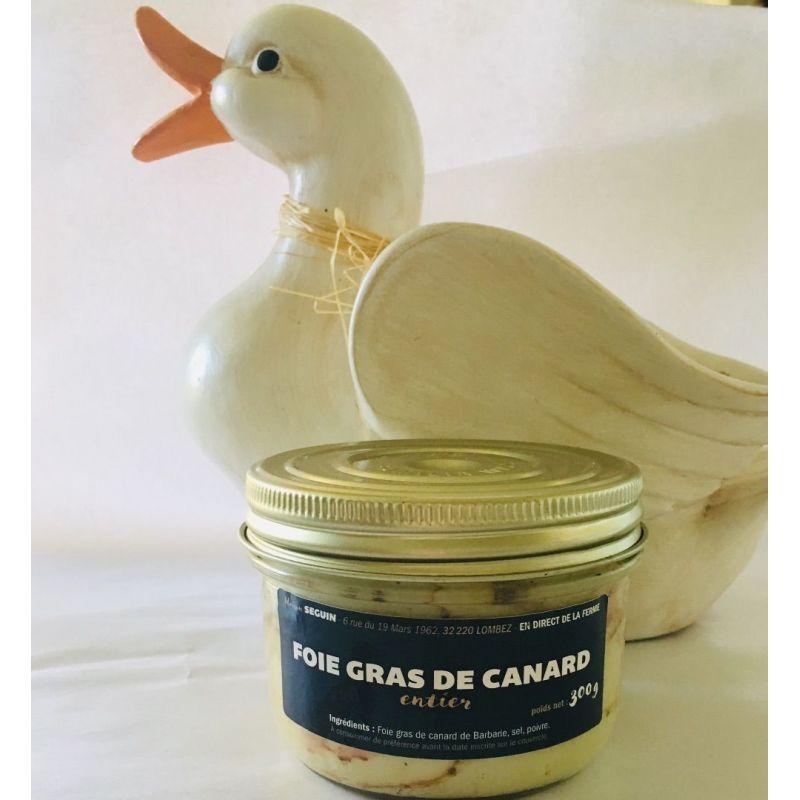 Foie gras de canard entier 300grs