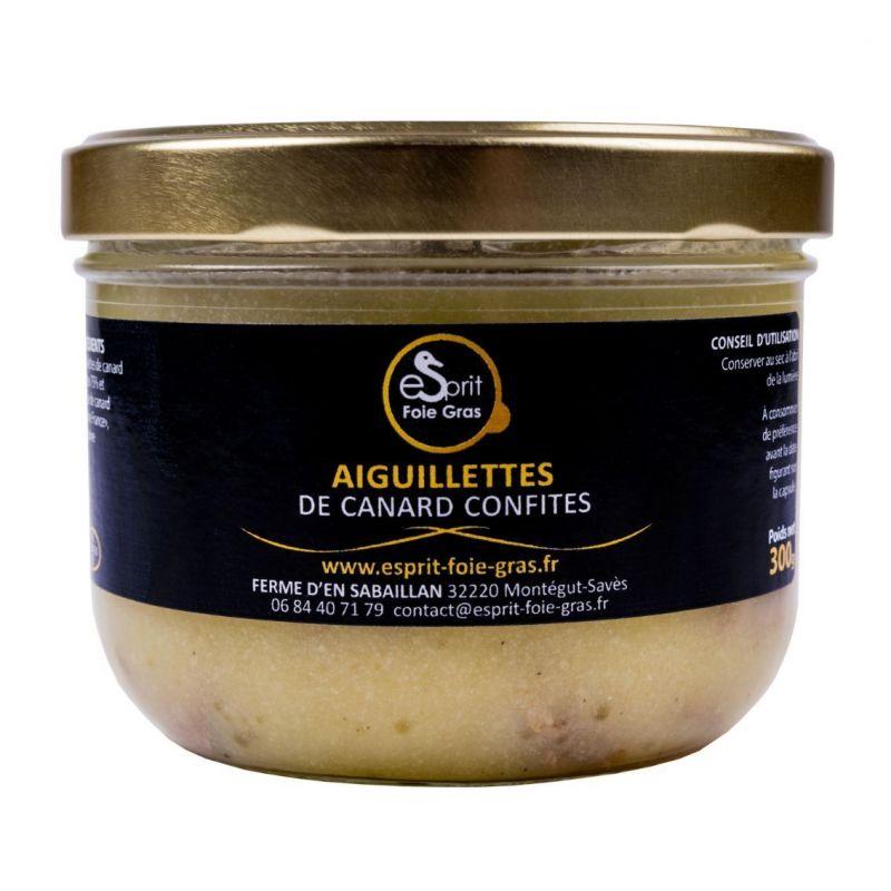 AIGUILLETTES DE CANARD CONFITES - 360 G