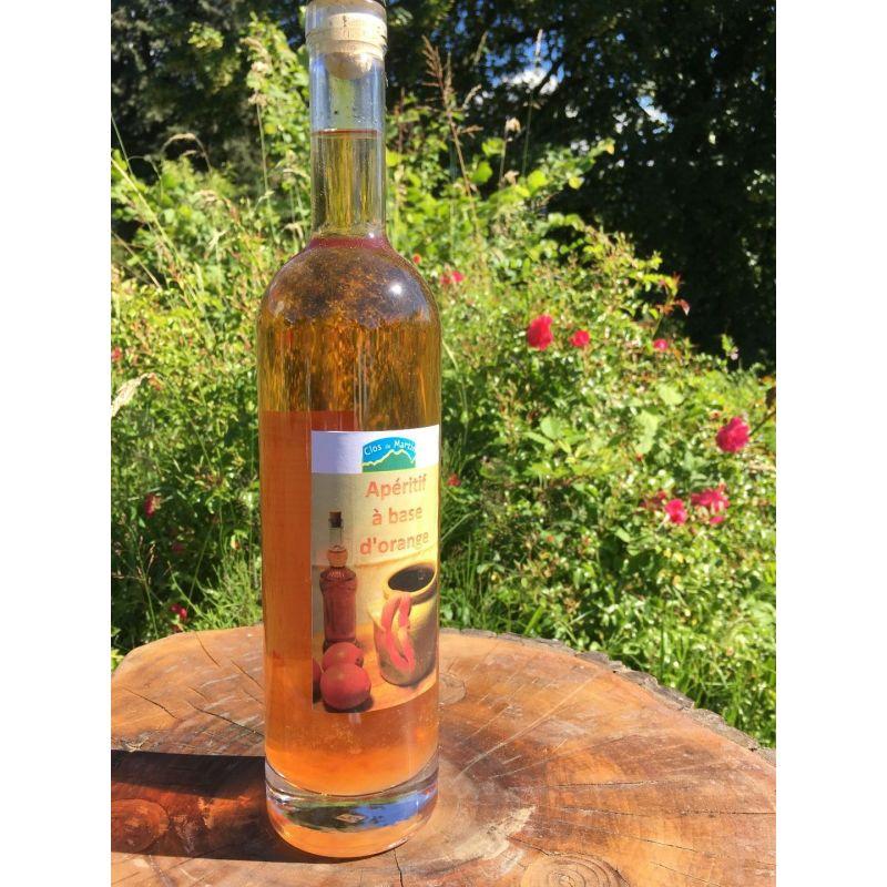 Vin d'orange artisanal bio