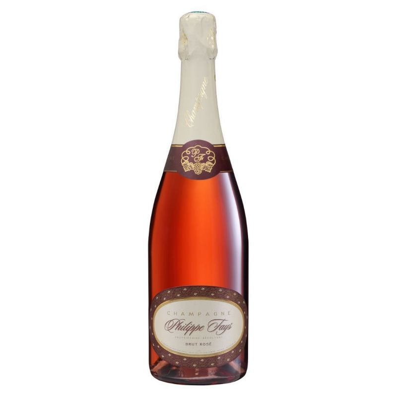 Champagne BRUT ROSE - bout. 750 ml