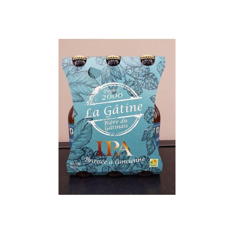 La Gâtine IPA par carton de 4 packs de 3x33 cl