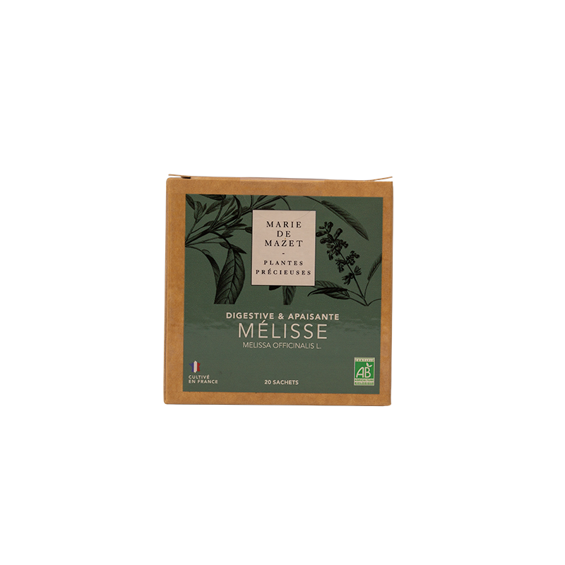 MELISSE - BOITE 20 INFUSETTES