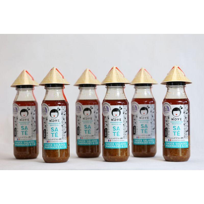 Coffret Familial N'oye Saté (6 bouteilles)