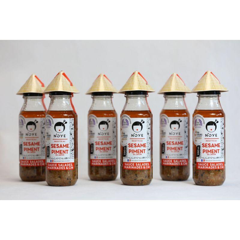 Coffret Familial N'oye Sésame&piment (6 bouteilles)
