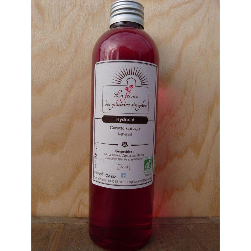 Hydrolat de Carotte sauvage bio - bouchon spray