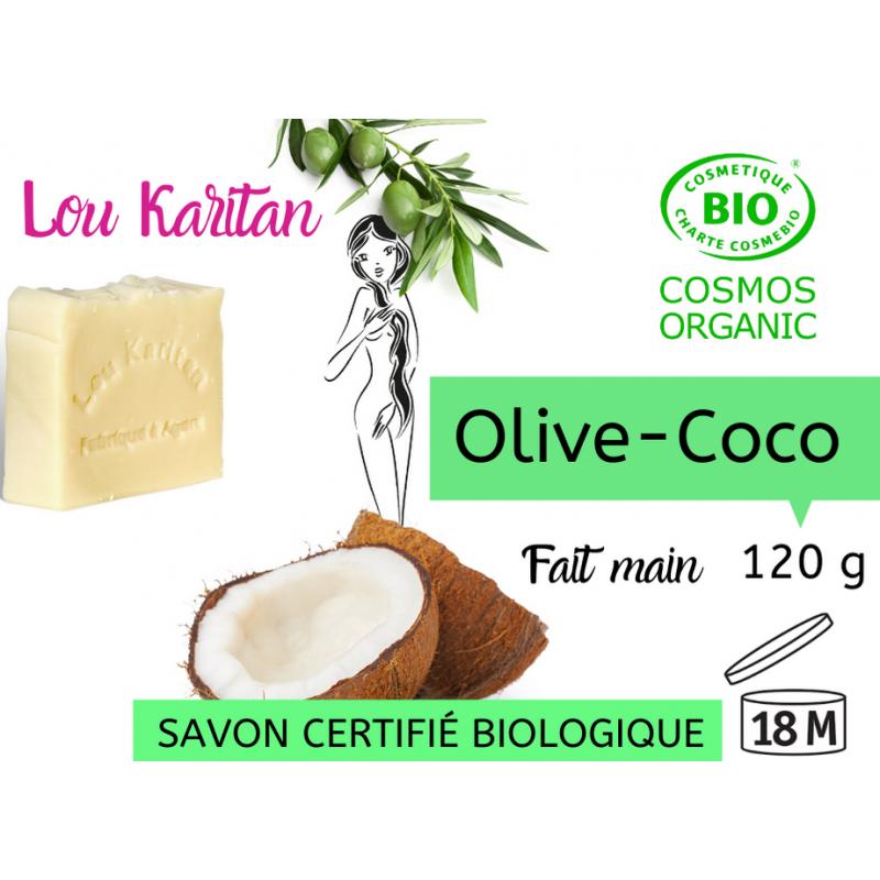 Savon bio Olive-Coco 120 g