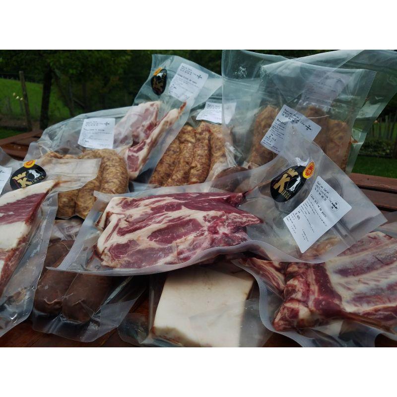 Colis viande fraîche Kintoa AOP 5kg