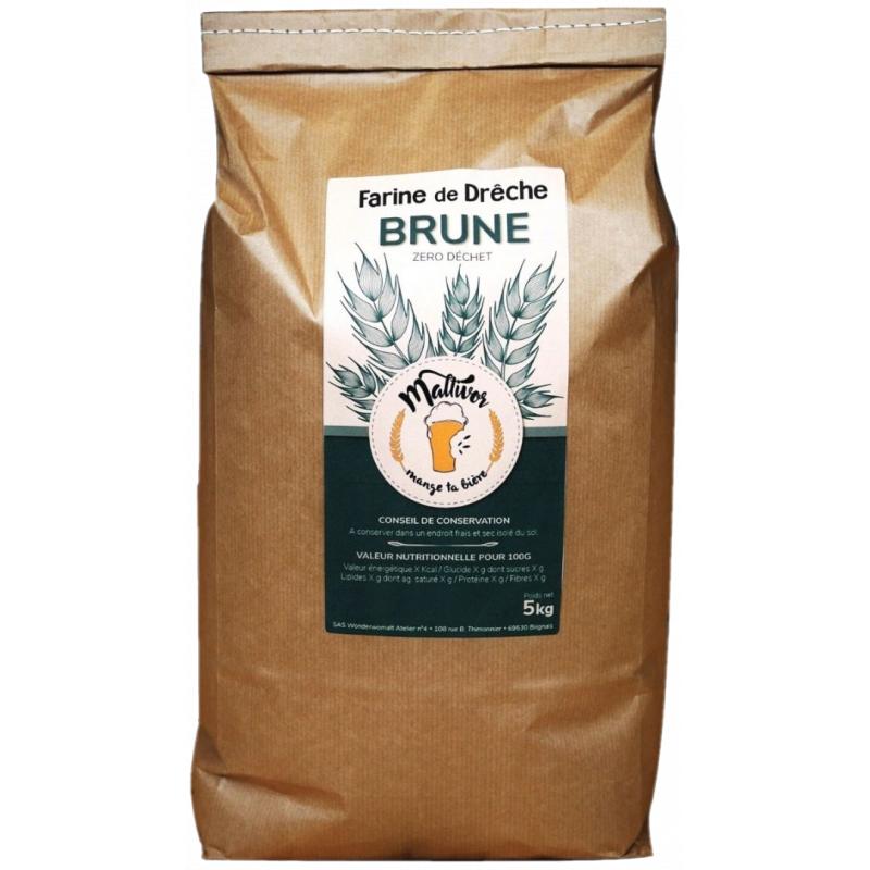 Farine de Drêche - Brune - 400g