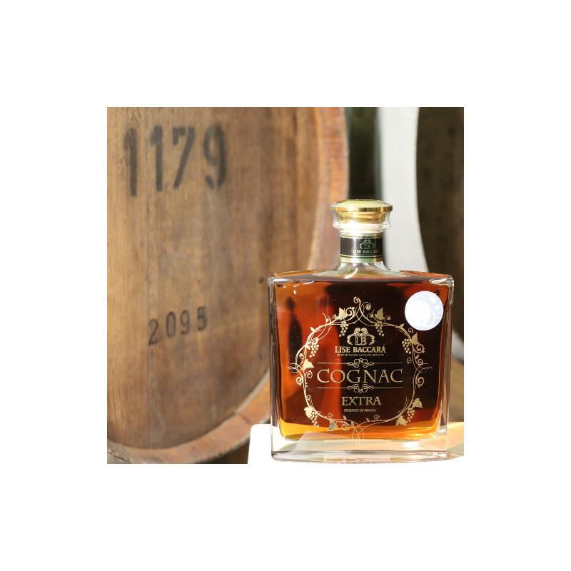 Cognac Extra et son étui