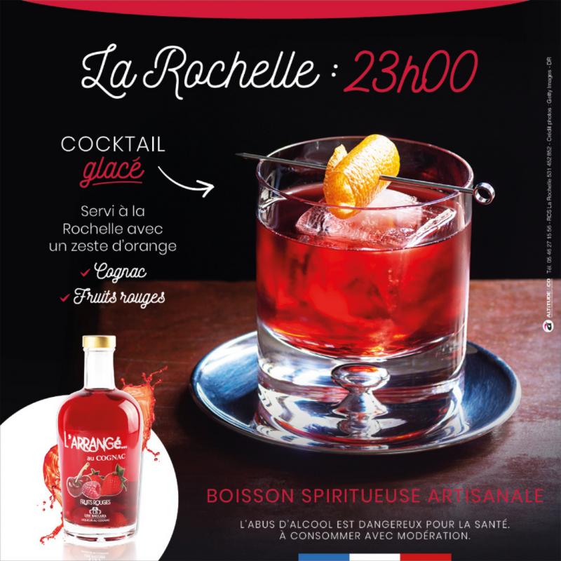 Arrangé au Cognac - Fruits Rouges