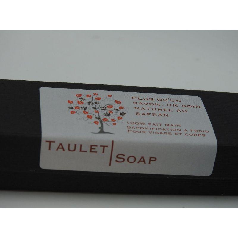Coffret de cinq mini savons soin au safran