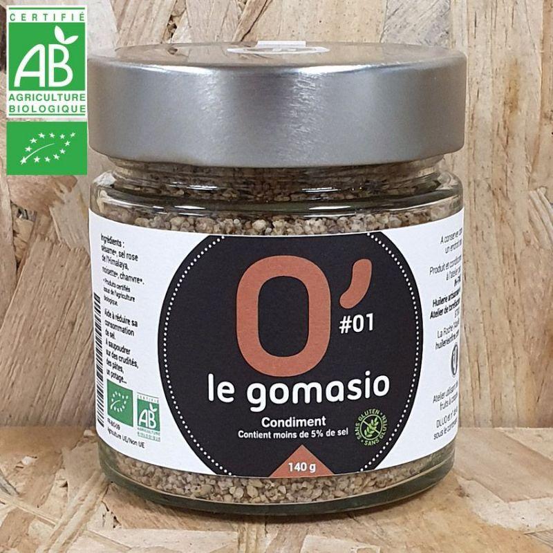 "Gomasio BIO ""Noisette-Chanvre"" - 500g"