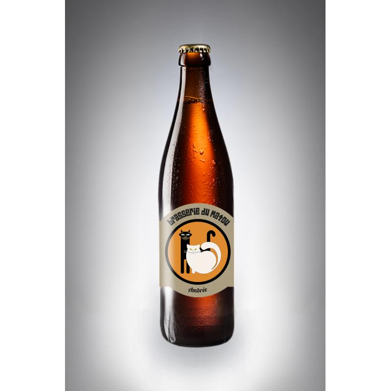 Bière ambrée MATOU lot de 6 - 3L - 6X50 CL