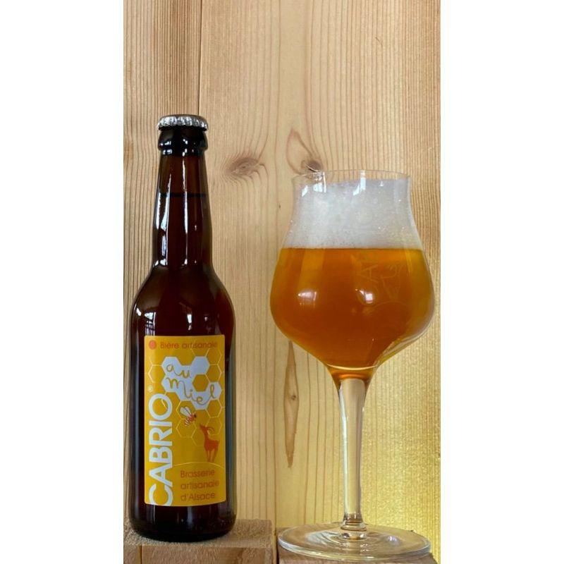 Bière au Miel Artisanale 33 Cl Pack de 12