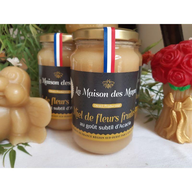 Miel fruité 500g