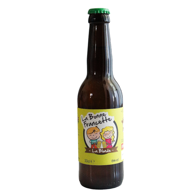 Bière La Bonne Francette Blonde