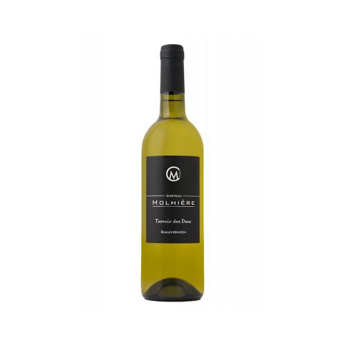 Château Molhière Terroir des Ducs Sauvignon 2018 Côtes de Duras 6 bouteilles de 75 cl