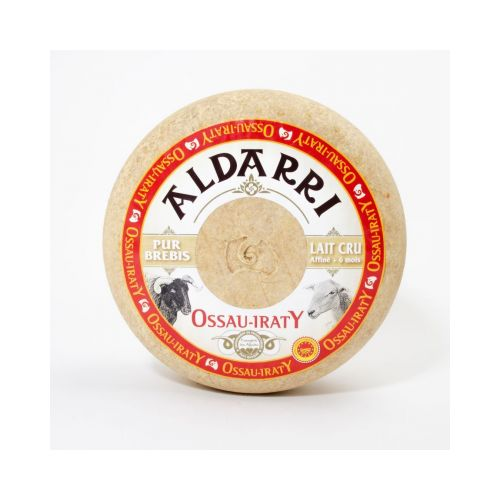 Fromage de Brebis AOC lait cru Ossau Iraty