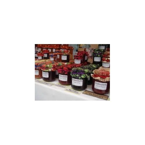 confiture artisanale 25 parfums pot de 350g