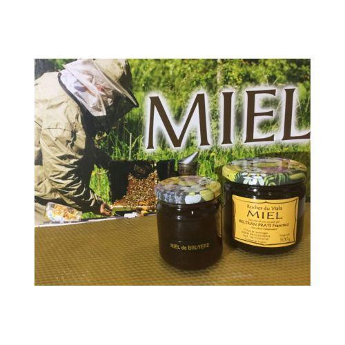 Miel de bruyère blanche