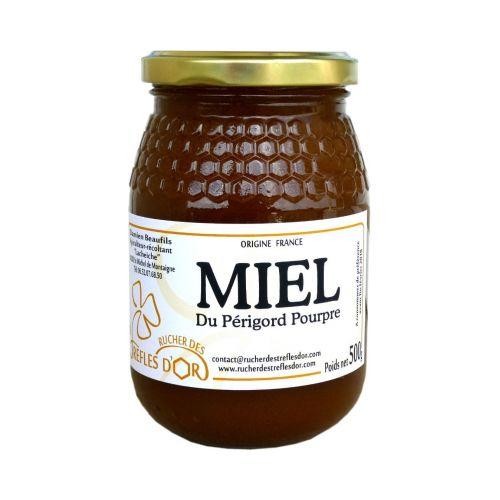 Miel de fleurs du Périgord 500gr