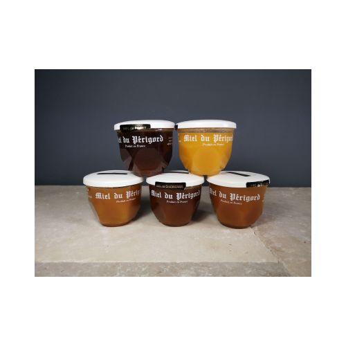 Offre spéciale  5 pots  5 saveurs du Périgord