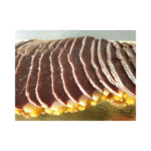 Magret de canard Breton fumé et tranché