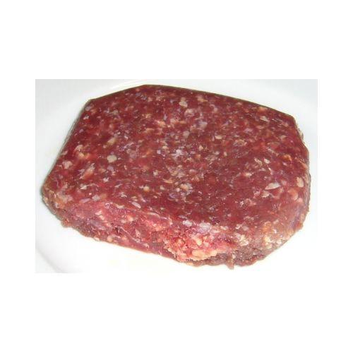 Viande hachée congelée