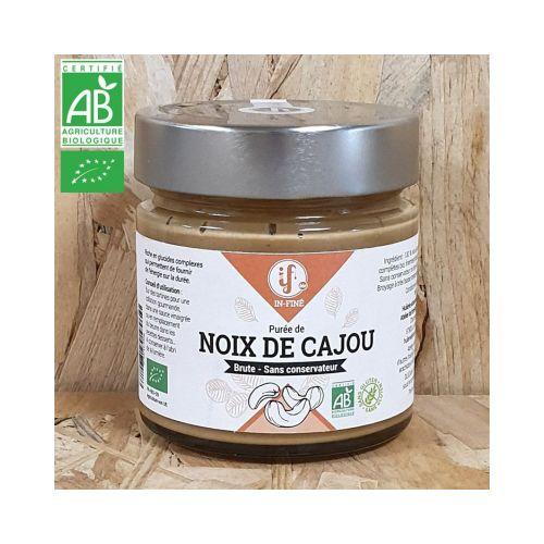 Purée de Noix de Cajou BIO sans sucre ajouté