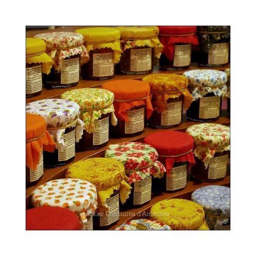 "Les ""Mini-confitures"" - 4 fruits jaunes"