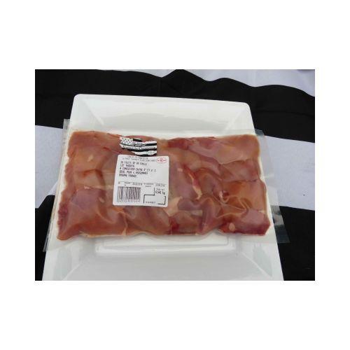 Lot de 5 sachets de 20 filets de caille environ, colis de 2500gr (+ ou - 5%) + 1 terrine de caille 90gr