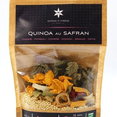 Quinoa au safran 2-3 personnes