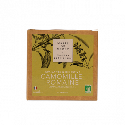 CAMOMILLE ROMAINE - BOITE 20 INFUSETTES