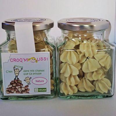 Croq'Mouss! meringues végétales