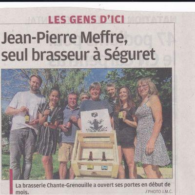 photo de Brasserie Artisanale Chante Grenouille