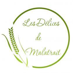 logo de LES DELICES DE MALATRAIT